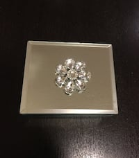 2 Brand New All Glass Jewelry Boxes Oakville