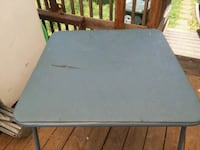 rectangular gray metal framed table Jonesborough, 37659
