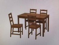 IKEA Dining Table Set for Sale Mississauga, L4W 0B9