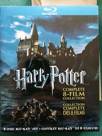 Harry Potter Complete 8 Film Collection Bluray  Mississauga, L4X 2M5