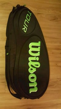 Wilson tennis bag Black/ Green  Coquitlam, V3B 0G2