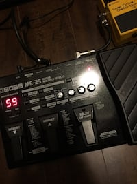Boss ME-25 multi-effects pedal Mississauga, L5B 0H3