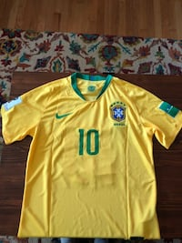 Neymar 2018 Brazil Home WC Jersey Derwood, 20855