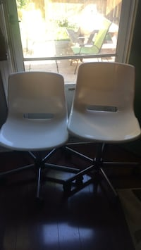 Two IKEA Desk Chairs. 10 each   Mississauga, L5L 1C5