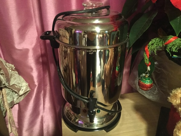 Delonghi 20-60 cup coffee maker valued at $235. Will take best offer.....
