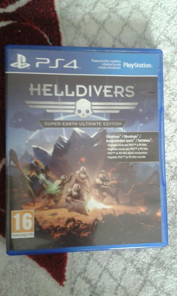 Ps4 Hell Divers