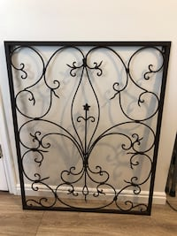 Awesome Rectangle Metal Wall Decor!