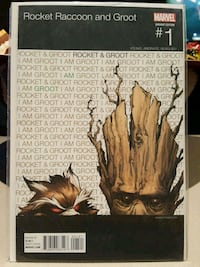 #1 Rocket Raccoon and Groot comic book MARVEL  Toronto, M3C 4C5