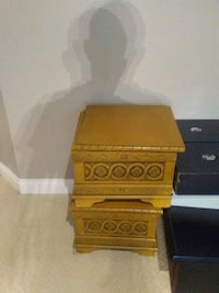 two brown wooden side tables Ottawa, K2W 1E2