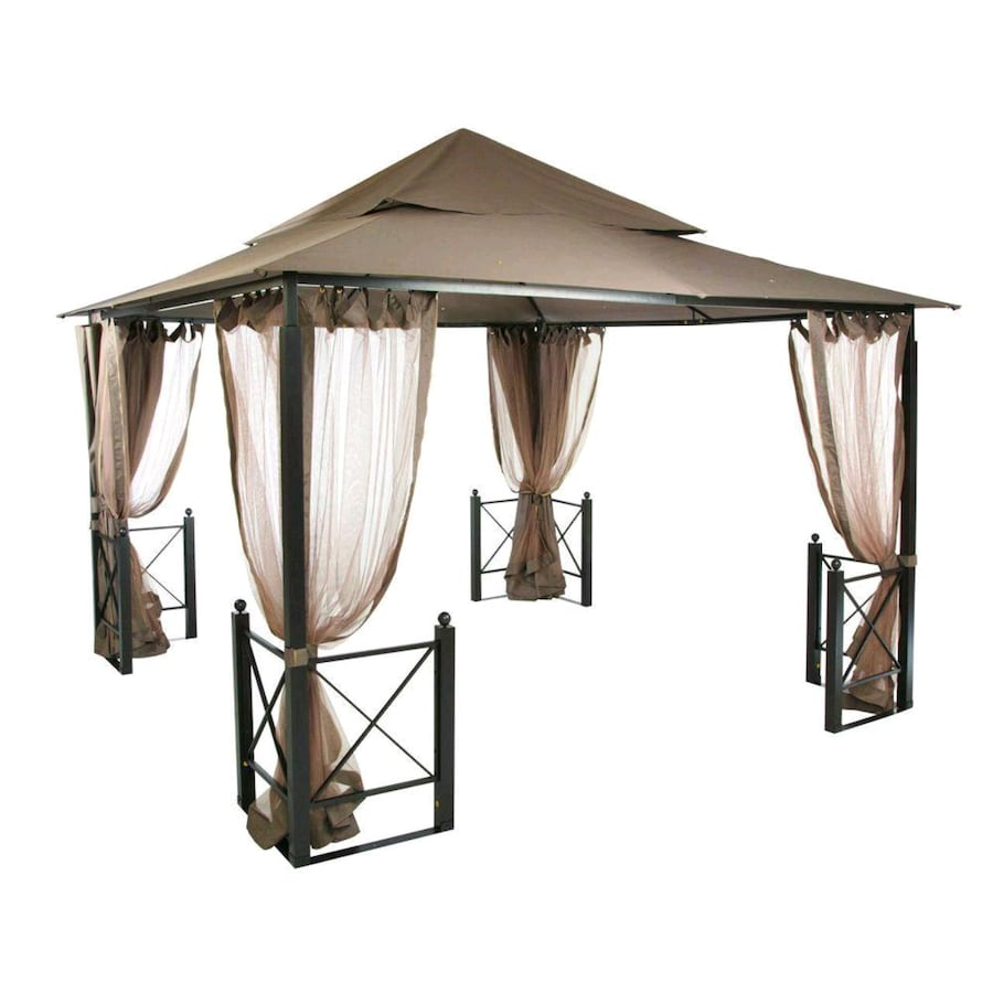 Hampton Bay 12 ft. x 12 ft. Outdoor Patio Harbor Gazebo