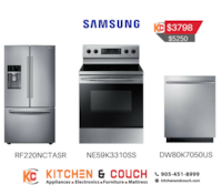 3PC APPLIANCES SAMSUNG BUNDLE PACKAGE Brampton