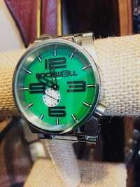 Rockwell 50m men's watch. Brand new and a big ass watch! Retails for over $800. Asking 400 obo for a new time piece by the gold standard in watches, Rockwell. , T4S