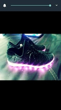 Kids light up sneakers