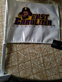 ECU Pirates flag, brand new with tags Wilson, 27896