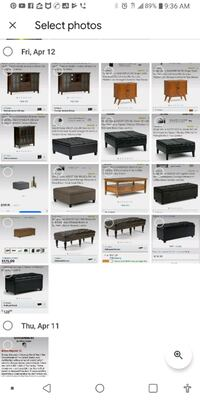 Beautiful Furniture/ new in boxes footstool benches ottomans