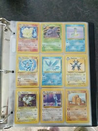 nine Pokemon trading card collection Chilliwack, V2R 3W7