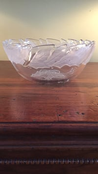 Christmas glass bowl Laval, H7W