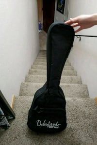 unpaired black leather knee-high boot Aptos, 95003