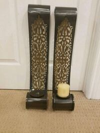 two large ornate candle holders Barrie, L4N 6A6