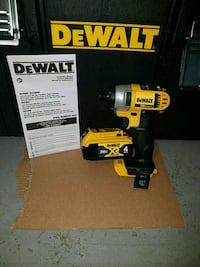 New dewalt 20v MAX impact driver with 4.0ah batter Chantilly