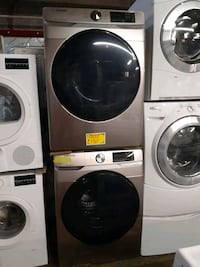 New SAMSUNG front load washer and dryer set with 6 months warranty  Baltimore, 21223