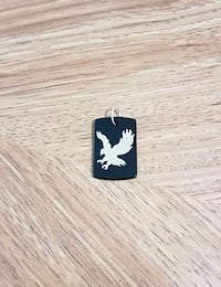 Baldeagle on Black Onyx Pendant  Winnipeg, R2G 0Y2