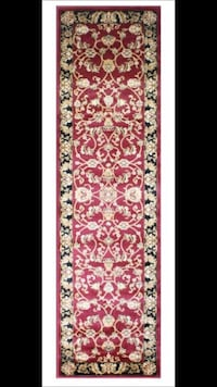 new carpet runner size 3x10 nice red hallway entryway rug runners