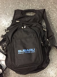 Subaru Rally Team Backpack   Six Pack Cooler With Cup holders 5b097e1d8713a
