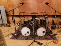 Crush Drums and Percussion Chameleon Jet Black 6 p Whittier, 90604