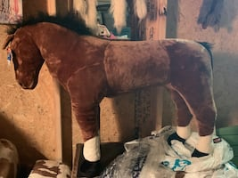 Large stuffed toy horse brand new