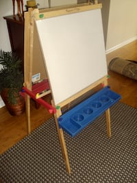 Art Easel- Black and White Boards