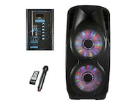 """beFree Sound 2x's 12"""" Woofer Portable Bluetooth Powered PA Speaker  New York, 11385"""