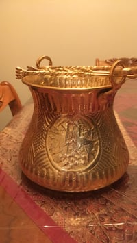 Ornate ice container from Iran Toronto, M2R 3N5