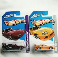 HOT WHEELS FAST & FURIOUS 69 DODGE CHARGER TOYOTA