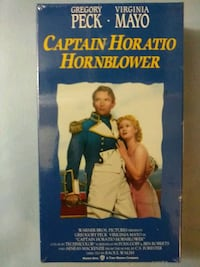 Captain Horatio Hornblower vhs