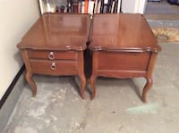 Solid wood end tables Bordentown, 08505