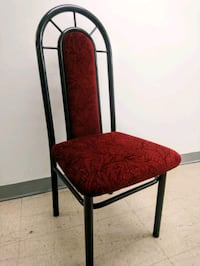 Fabric/metal frame chair
