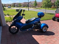 blue and black motor scooter Kissimmee