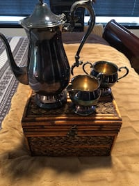 Antique silver plated tea set from 1950's Hillsboro, 97123