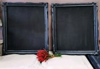 2 Matching Black Frames with Chalkboards Whitby, L1N 3G8