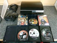 500gb Backwards compatible PS 3 bundle with rare P Washington