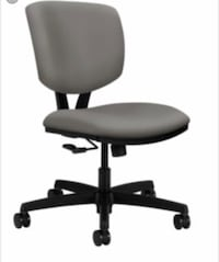 gray padded office rolling chair Manassas, 20110