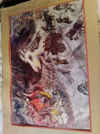 Real chagall painting. Negotiable Richmond, 94804