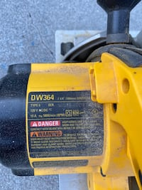 "Dewalt DW364 7 1/4"" Circular Saw Chesapeake, 23321"