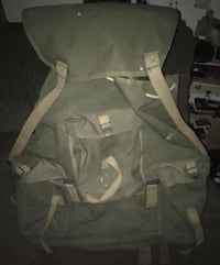 Antique military backpack army war collectible bag Milwaukee, 53225
