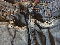 (3) Used pair Levis 550 Relaxed Fit 28x23 (8H)