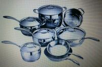 TRAMONTINA GOURMET DOMUS 13 PIECE COOKWARE SET Woodbridge, 22193