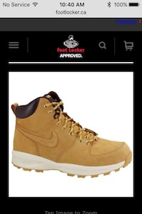 Nike boots men's 9