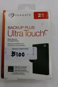 Seagate Backup plus Ultra touch_2Tb brand new. Toronto, M9W 5Z3