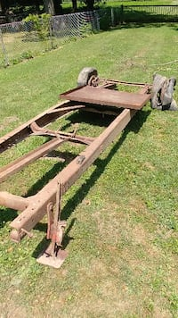 Heavy Duty Frame with Wheels - Trailer?? Buggy?? Maineville
